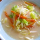 野菜たっぷりちゃんぽんラーメン(スープ付き蒸し麺)