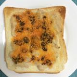 食べるラー油で♪ツナマヨチーズトースト