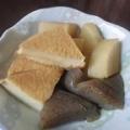 厚揚げ豆腐と大根とこんにゃくの煮物(^○^)