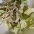 ふりかけで簡単素麺サラダ