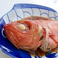 *山田錦で煮た金目鯛*
