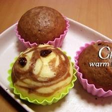 ホットケーキミックスで蒸しケーキ・基本編