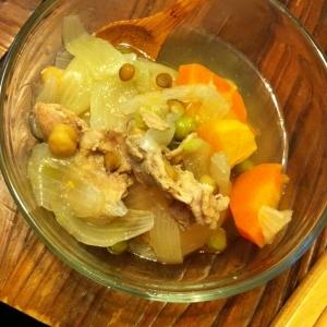 豆と根菜のスープ