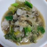 白菜と舞茸の豚バラ鍋