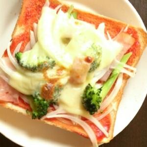 簡単ランチ☆ピザトースト