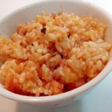 お醤油で 卵黄・明太子・塩昆布の混ぜご飯