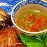 ハーブ屋さんの☆トマトとバジルのソース