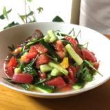 簡単 ぽんドレッシングの夏野菜