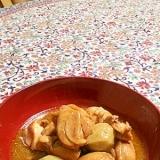 サトイモ鶏肉味噌煮