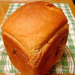 HBで☆スパイスレーズン食パン