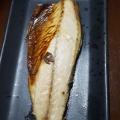 フライパンで焼き鯖