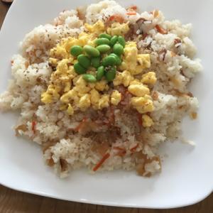ふわふわ炒り卵のちらし寿司