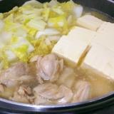 簡単手作り☆鶏肉と白菜の中華鍋