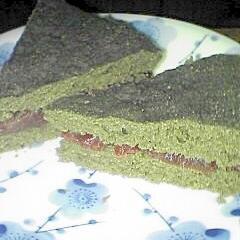 卵牛乳油小麦粉無し 粒あん よもぎ炊飯器ケーキ
