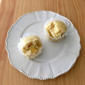 離乳食に☆バナナきな粉蒸しパン