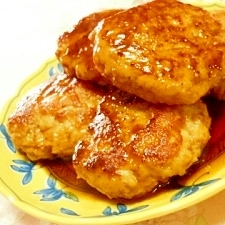 ふんわり~❤鶏もも肉の豆腐つくね焼き❤