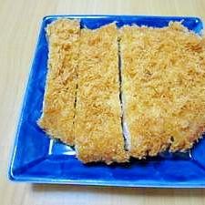 鶏ムネ肉のあっさりカラッとチキンカツ