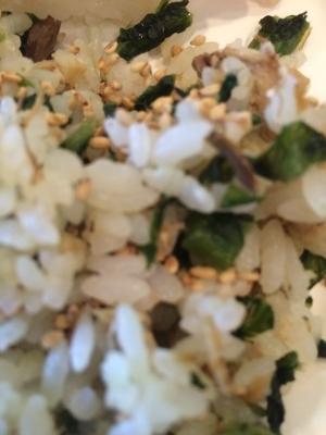 焼きサバと大葉の混ぜ寿司( *´艸`)
