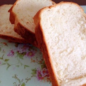 スキムミルクなし☆基本の食パン
