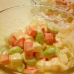 コロコロ辛子マヨサラダ