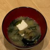 豆腐となすのお味噌汁