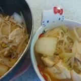 鶏のササミでひとりキムチ鍋