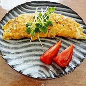 卵の黄色で食卓を華やかに「和風オムレツ」献立