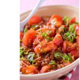 豆腐をトマトに変えてもバッチリ!  マーボートマト