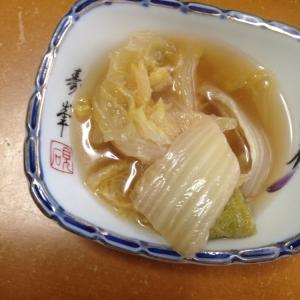 白菜の麺つゆ煮(*^^*)★