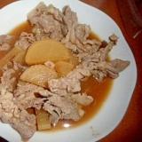 豚肉と大根の甘酢煮