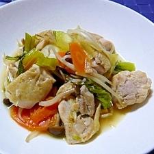 鶏肉の中華炒め♬