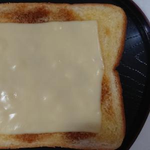 みたらし風チーズトースト