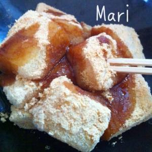 ぷにぷに♪レンジで簡単☆お豆腐信玄餅☆
