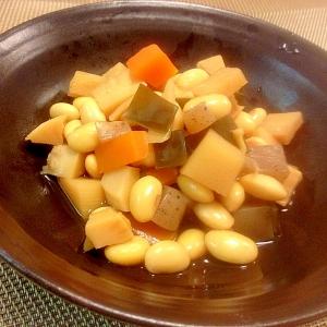 栄養たっぷり☆簡単な五目煮豆