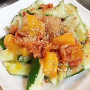 柿きゅうりキムチ
