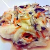 ささみと野菜のチーズ焼き