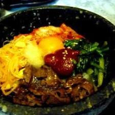本場の味☆石焼ビビンバ+わかめスープ