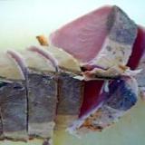 鰹のタタキを美しく切る切り方