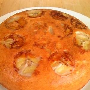 バナナケーキ☆ほんのりオレンジ風味