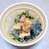 カップスープで簡単♪蒸し鶏のヘルシーヌードル