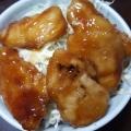 鶏むね肉の照り焼き丼