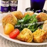ツナ&水菜のスパイシー☆カレーコロッケ