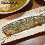 秋刀魚(さんま)の塩焼きハーブ風味