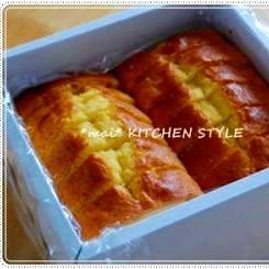 ホットケーキミックスで簡単☆ふわふわパウンドケーキ