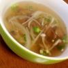 えのきと舞茸の中華スープ