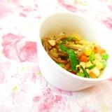 ❤有機わらびとミックスベジとニラの卵炒め❤