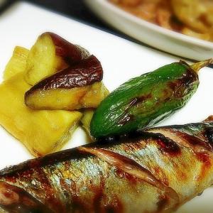 焼き魚に添えて◎長茄子の焼きなす