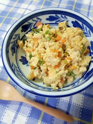 粉どうふDE炒り豆腐♪
