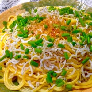 【青じそ】青じそ風味の旨味和風スパゲティ