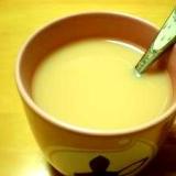 ノンカフェイン。ルイボスでハチミツミルクティー♪